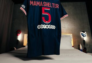La chaîne d'Hôtel Mama Shelter dévoile une chambre « Paris Saint-Germain »