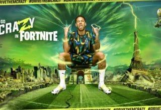 Neymar Jr. débarque dans Fortnite avec des tenues Puma