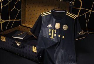 Bayern Munich : le maillot extérieur dévoilé pour la saison 2021/2022