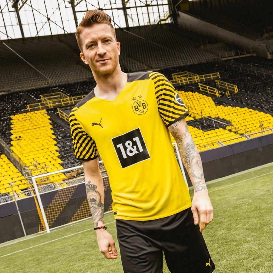 Maillot Domicile Borussia Dortmund 2022