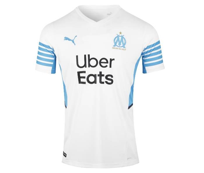 maillot domicile OM 2021-2022