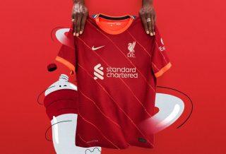 Liverpool le maillot domicile saison 2021-2022 dévoilé par Nike