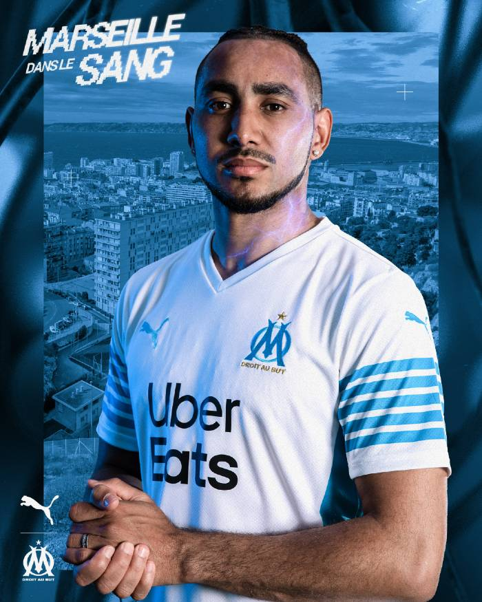 Maillot domicile Olympique Marseille 2021-2022