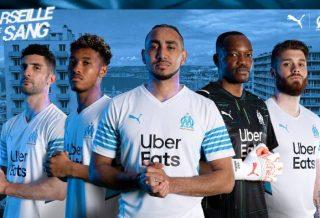OM le maillot domicile saison 2021-2022 dévoilé par Puma