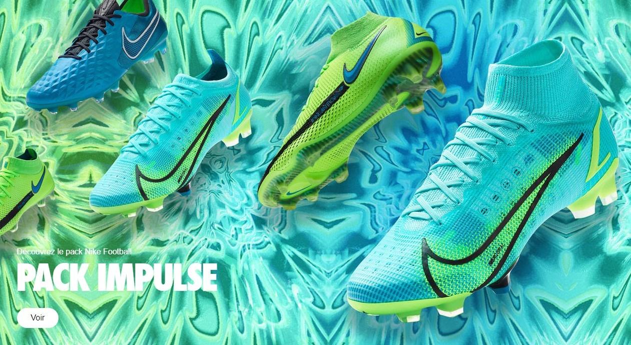 chaussures Nike Football Impulse Pack