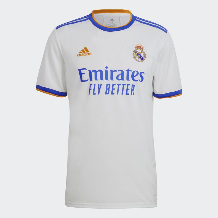 Maillot domicile du Real Madrid 2021-2022