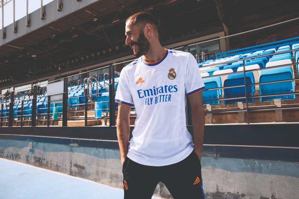 Real Madrid le maillot domicile 2021-2022 dévoilé