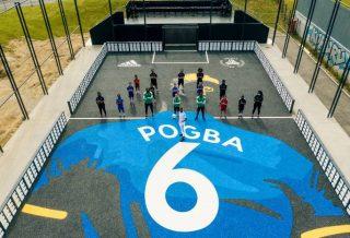 Un playground à l'effigie de Paul Pogba à Roissy-en-Brie