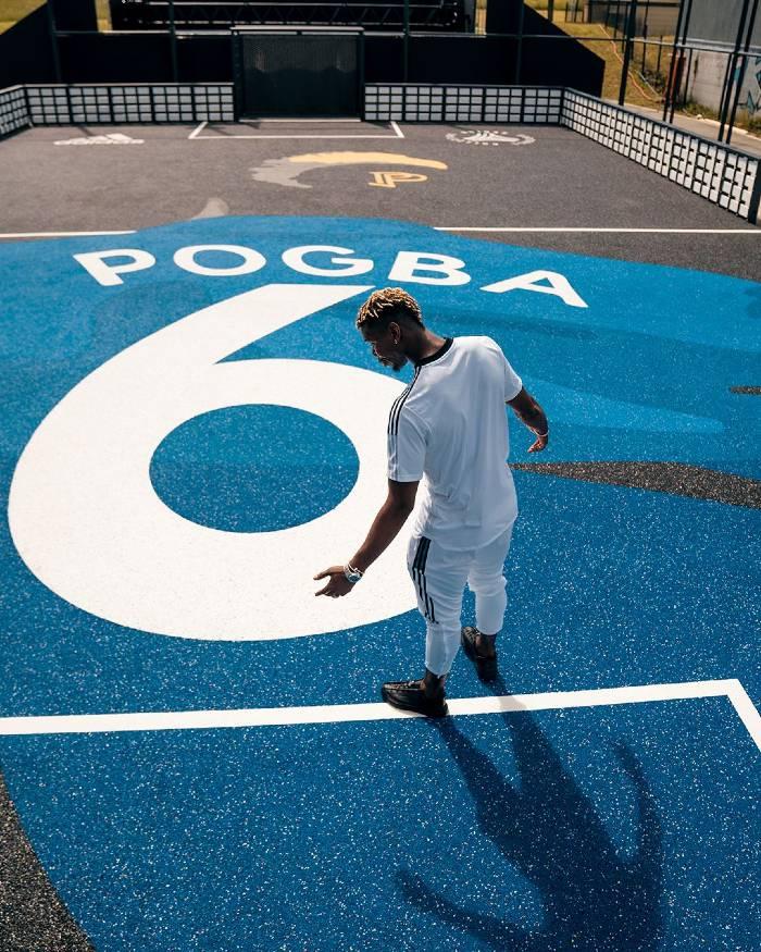 adidas inaugure un nouveau playground Paul Pogba à Roissy-en-Brie