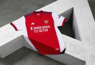 Arsenal le nouveau maillot domicile dévoilé saison2021-2022