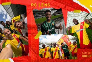 RC Lens les maillots dévoilés pour la saison 2021-2022