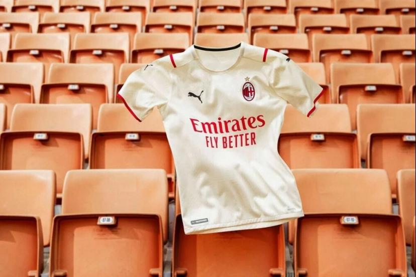 maillot AC Milan exterieur 2022