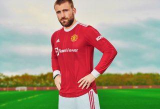 Manchester United le nouveau maillot domicile 2021-2022