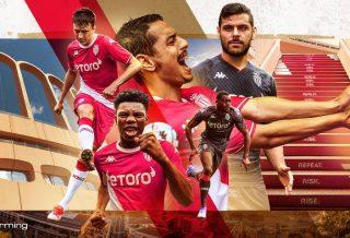 Tous les maillots de l'AS Monaco saison 2021-2022