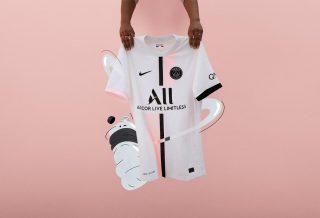 PSG le nouveau maillot extérieur dévoilé pour la saison 2021-2022