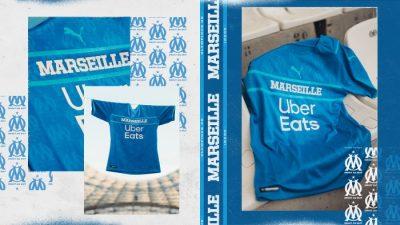 3eme Maillot Olympique de Marseille saison 2021-2022