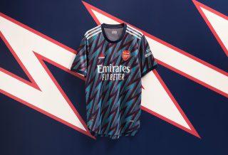 Arsenal dévoile son nouveau maillot third pour la saison 2021/22