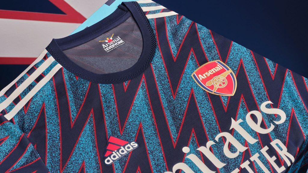 Third Kit Arsenal 2021-2022