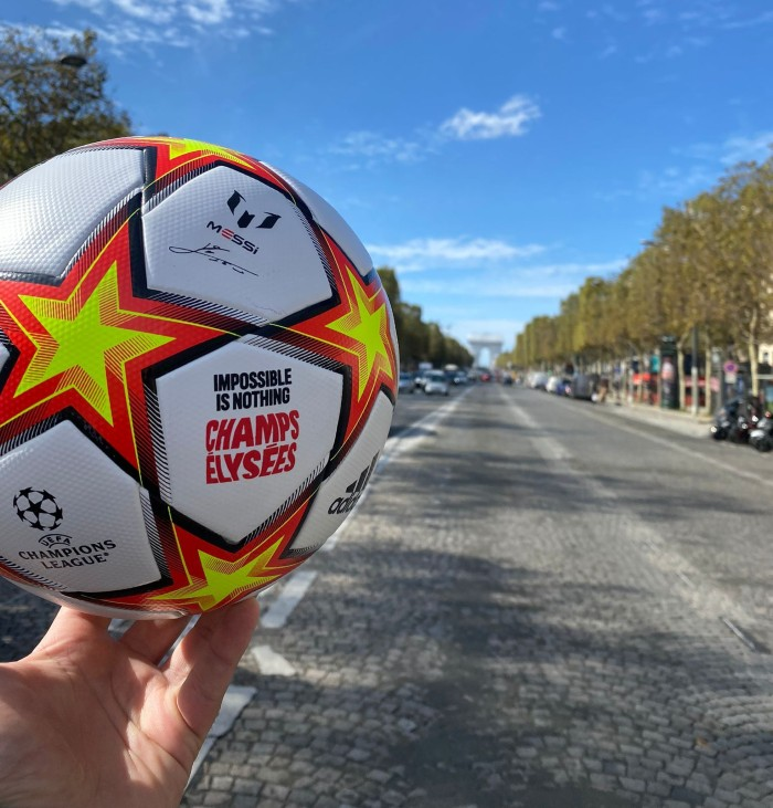 Ballon de foot adidas Messi Impossible is nothing
