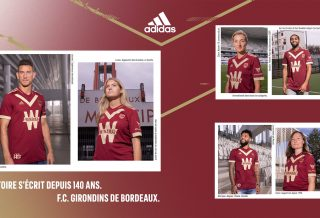le FC Girondins de Bordeaux dévoile un maillot collector pour les 140 ans du club
